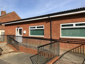 External View of Community Centre, Crundwell Road