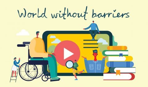 World Without Barriers Cartoon Image