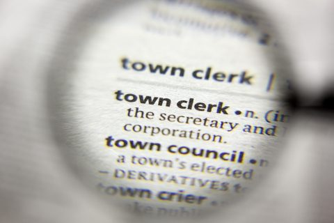 Town Clerk Dictionary Definition