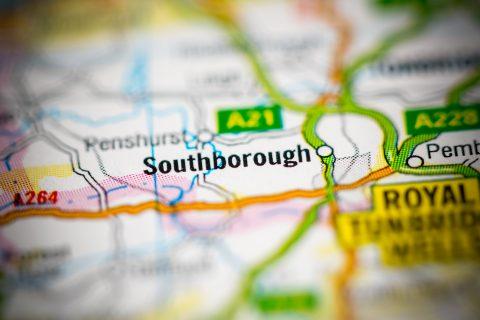 Close-Up Map of Southborough