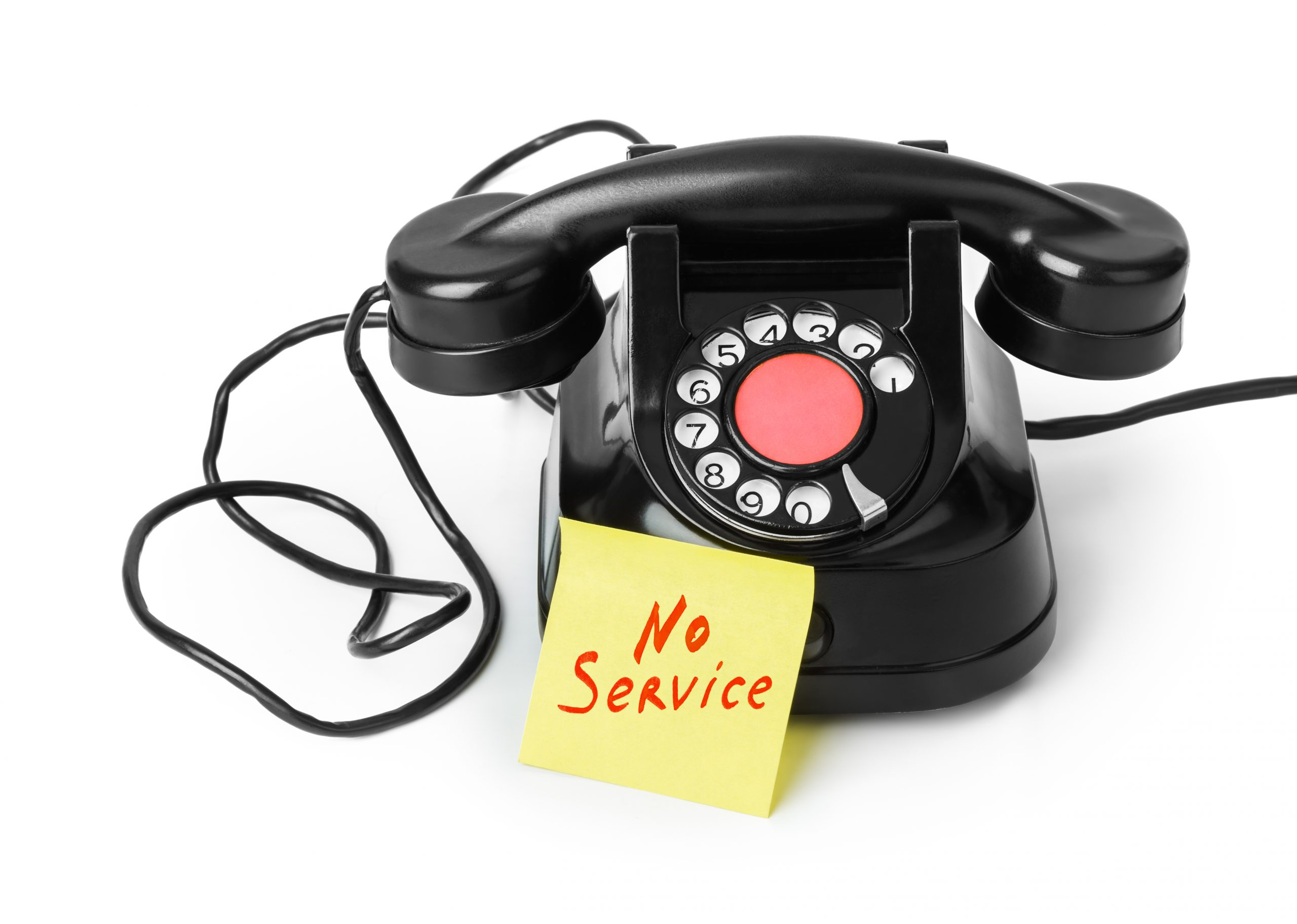 PHONE LINE DOWN ON 01892 529176